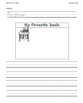 Kindergarten Wonders: Unit 9 Week 1- PowerPoint/Activities