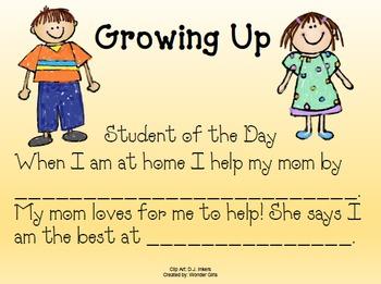 Kindergarten: Unit 9 Week 2- Lesson Plans/Activities