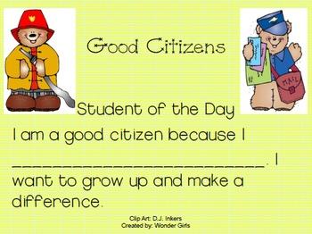 Kindergarten: Unit 9 Week 2- PowerPoint/Activities