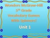McGraw-Hill Wonders Vocab. Game Unit 1