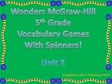 McGraw-Hill Wonders Vocab. Game Unit 2