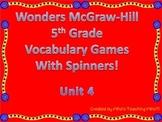 McGraw-Hill Wonders Vocab. Game Unit 4