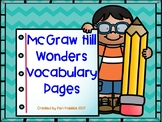 McGraw Hill Wonders Vocabulary