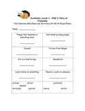 McGraw Hill Wonders  Vocabulary Activity unit 1