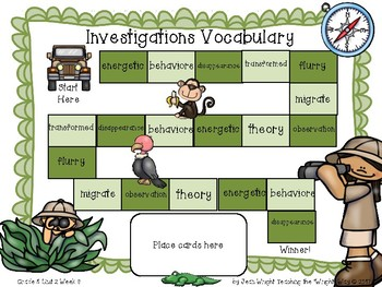 McGraw Hill Wonders Vocabulary Games Grade 5 Unit 2