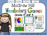 McGraw Hill Wonders Vocabulary Games Grade 5 Unit 5