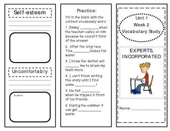 McGraw Hill Wonders Vocabulary Unit 1 Week 2