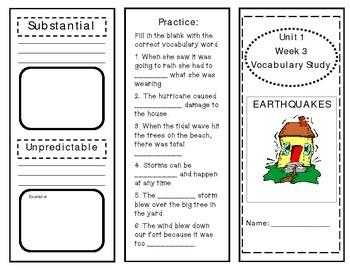 McGraw Hill Wonders Vocabulary Unit 1 Week 3