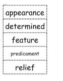 McGraw Hill Wonders Vocabulary Unit 4 1st Grade