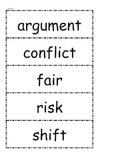 McGraw Hill Wonders Vocabulary Unit 6 1st Grade