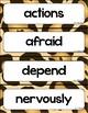McGraw Hill Wonders Vocabulary Word Wall (2nd Grade)