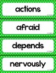 McGraw Hill Wonders Vocabulary Word Wall (2nd Grade)