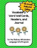 McGraw Hill Wonders Vocabulary Word Wall (4th Grade)