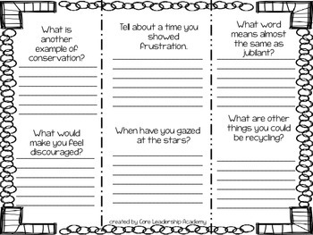 McGraw Hill Wonders Vocabulary Words 5.2 Foldable & Assessment 3rd grade