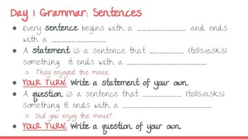McGraw-Hill Wonders Vocabulary & Grammar MiniLessons: Grade 5 Unit 1 SAMPLE