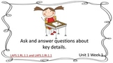 First Grade McGraw-Hill Wonders Weekly Reading Posters wit