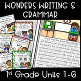 Wonders Writing 1st grade Units 1-6 Bundle