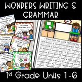 Wonders Writing 1st grade Units 1-6 Bundle