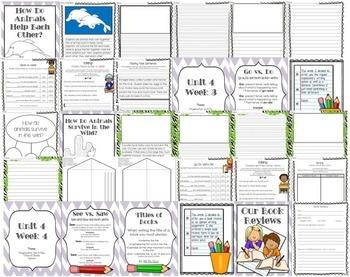 McGraw-Hill Wonders Writing: 1st grade Language Arts- Writing and Grammar Unit 4