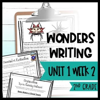 Wonders Writing and Grammar: 2nd Grade Unit 1 Week 2