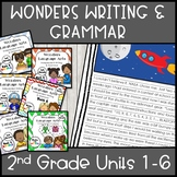 Wonders Writing 2nd grade Units 1-6 Bundle