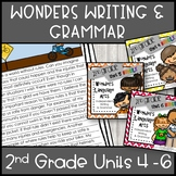 Wonders Writing 2nd grade Units 4-6 Bundle