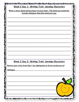 McGraw Hill Wonders Writing Every Day Ideas Journal: Unit 4 Grade 4