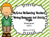 McGraw Hill Wonders Writing Responses and Activity Pages U
