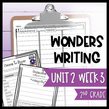 Wonders Writing and Grammar 2nd Grade Unit 2 Week 3
