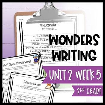 Wonders Writing and Grammar 2nd Grade Unit 2 Week 5