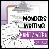Wonders Writing and Grammar 2nd Grade Unit 2 Week 6