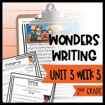 Wonders Writing and Grammar 2nd Grade Unit 3 Week 3