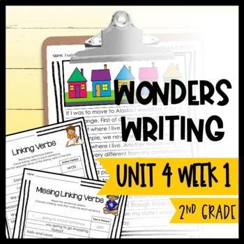 Wonders Writing and Grammar 2nd Grade Unit 4 Week 1