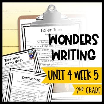 Wonders Writing and Grammar 2nd Grade Unit 4 Week 5