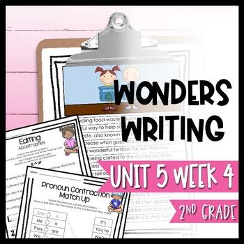 Wonders Writing and Grammar 2nd Grade Unit 5 Week 4