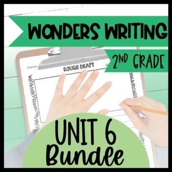 McGraw-Hill Wonders Writing and Grammar 2nd Grade Unit 6 Bundle