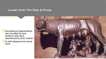 McGraw Hill World History Chapter 7 The Romans PowerPoint