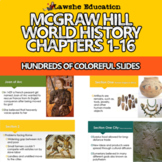 McGraw Hill World History Chapters 1-16 PowerPoints