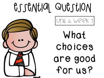 McGraw Hill grade 3 Unit 4 essential questions