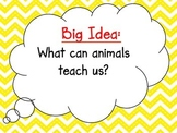 McGraw-Hill Wonders Curriculum-Grade 4, Unit 2, Week 2 Focus Wall
