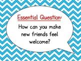McGraw-Hill Wonders Curriculum-Grade 4, Unit 3, Week 1 Focus Wall