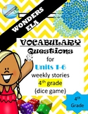 McGraw Hills wonders Grade 4  VOCABULARY practice