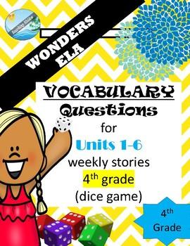McGraw Hills wonders Grade 4  VOCABULARY practice