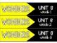 McGrawHill WONDERS Labels