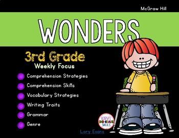 McGrawHill WONDERS Weekly Organization 3rd Grade