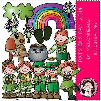 McGuire's St Patrick's Day clip art - by Melonheadz