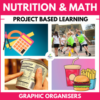 Math Fast Food Unit: (Nutritional Values, Food, Health, Statistics, Data) PBL