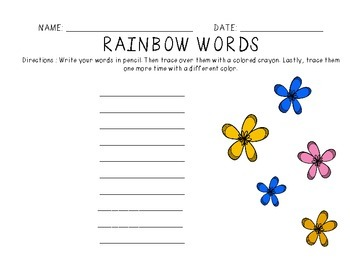 McMillian McGraw-Hill ® Treasures Spelling Words for Grade 2 - Unit 2