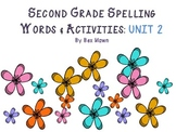 McMillian McGraw-Hill ® Treasures Spelling Words for Grade