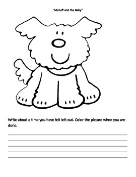 Mcduff and the Baby reading worksheet